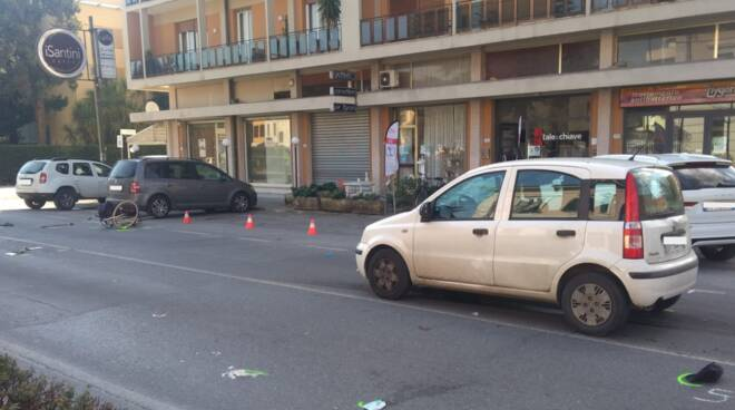 incidente viale Puccini Sant'Anna