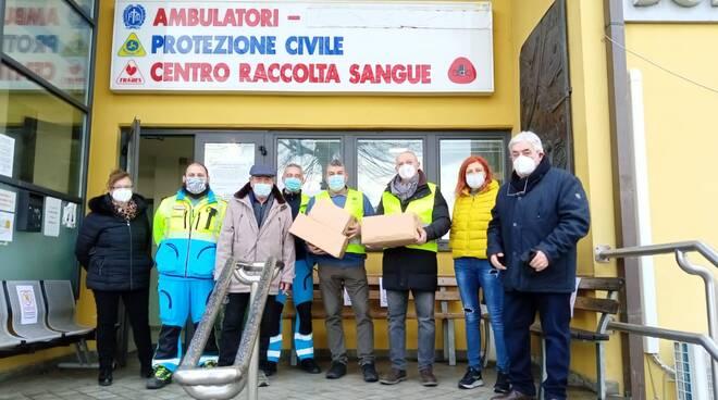 L'iniziativa 'Catena del freddo' del Lions club di Massarosa