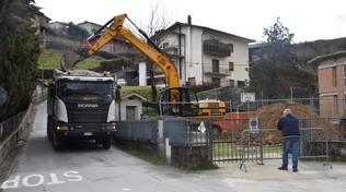 Lavori fosso Canalaccio Castelnuovo