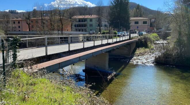 lavori messa in sicurezza ponte località I Cerri Castelnuovo