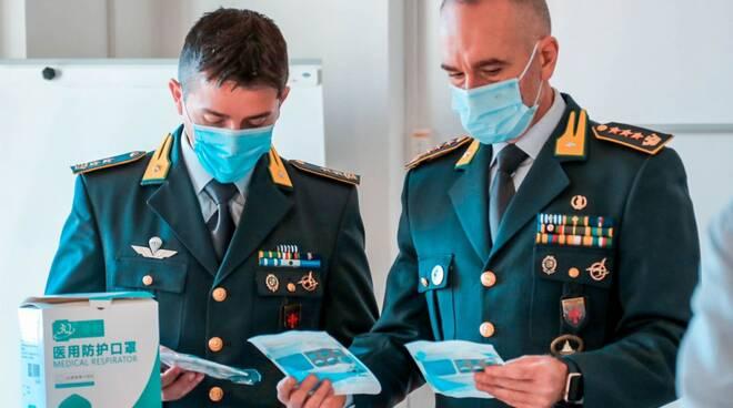 mascherine dissequestro procura di Lucca ospedale di Livorno