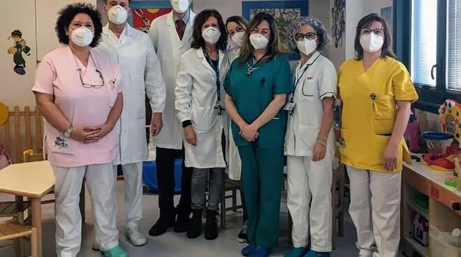 Nata con una cardiopatia congenita la bimba è stata salvata all'ospedale di Empoli