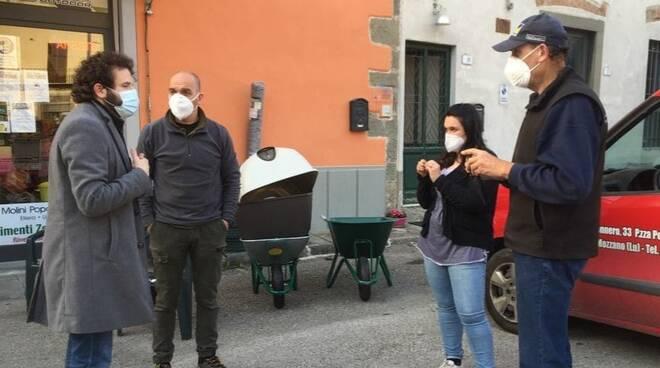 Patrizio Andreuccetti incontra i commercianti di Chifenti