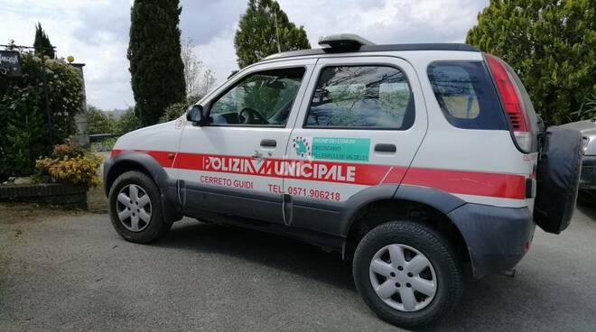 Polizia municipale unione dei comuni Cerreto Guidi