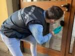 polizia scientifica Lucca in azione