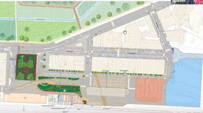 progetto fattibilità terminal bus Lucca