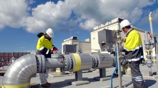 rete del gas Toscana Energia