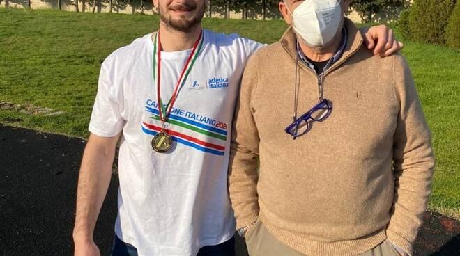 Roberto Orlando campione italiano giavellotto