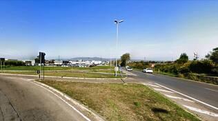 rotatoria in via del Castelluccio a Terrafino per alleggerire il traffico di Ponte a Elsa