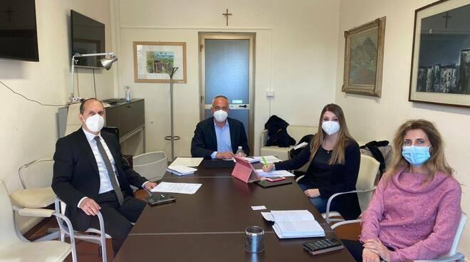 tavolo sul problema dell'acqua torbida a Massarosa