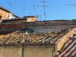 tetto crollato a fucecchio 31 marzo 2021