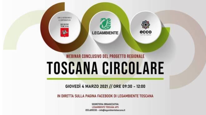 Toscana circolare Legambiente logo