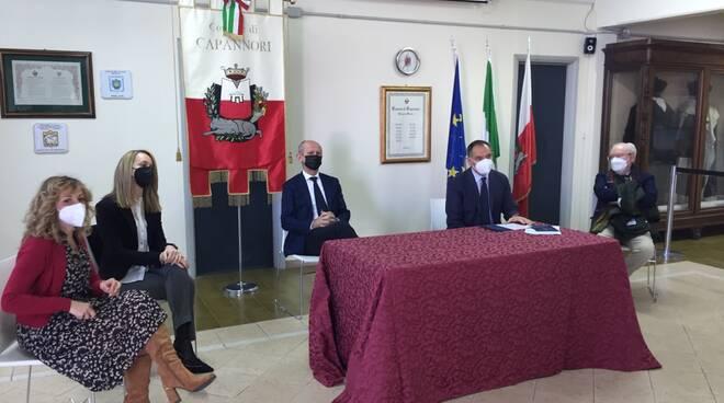 Ufficio prossimità Capannori visita Ciuoffo e Menesini