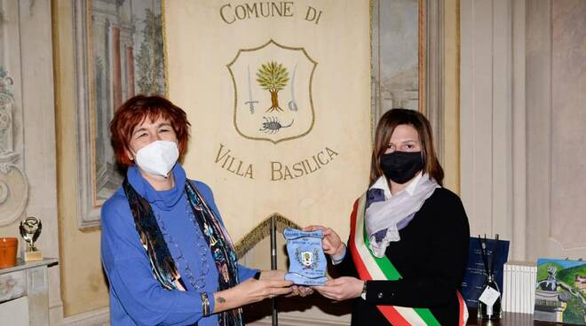 visita questore Alessandra Faranda Cordella a VIlla Basilica