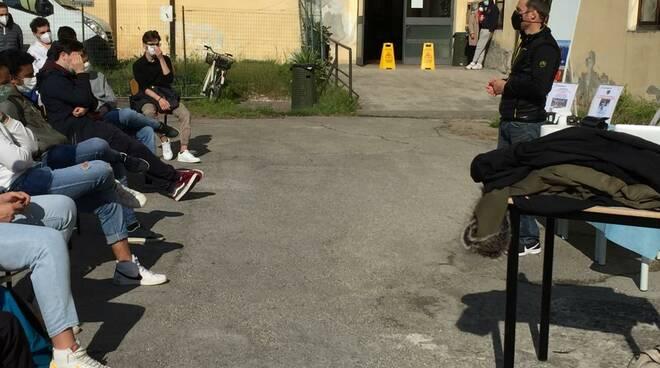 Andrea Lanfri incontra gli studenti del Giorgi