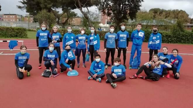 atletica cadetti Virtus Lucca Livorno