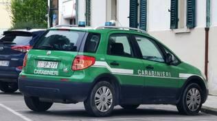 Carabinieri in comune a Santa Croce 15 04 2021