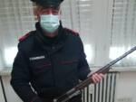 carabinieri sequestro fucile detenzione illegale