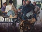 """L\'artista lucchese Lustro presenta la sua mostra \""""Un lustro d\'arte\"""""""