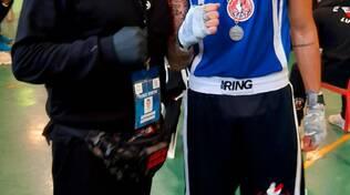 Medaglia d'argento per Lavorini della boxe Giuliano