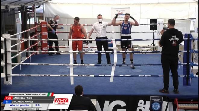 Giuliano si aggiudica il Torneo Alberto Mura