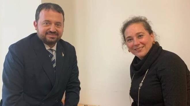 Centrodestra per il cambiamento Alessandro Scipioni e Cecilia Cappelletti