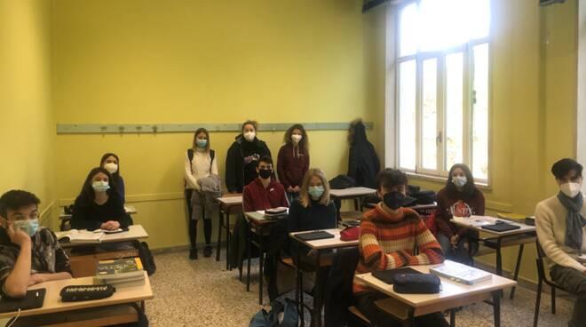 classe liceo Ariosto di Barga