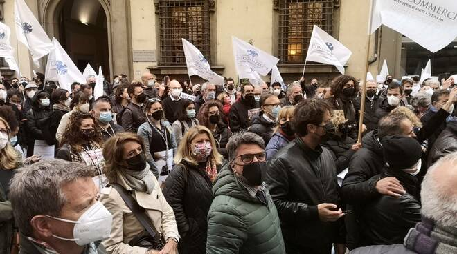 commercianti a Firenze