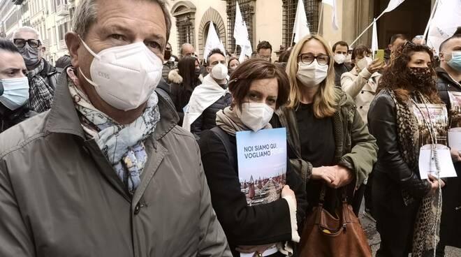 commercianti a Firenze
