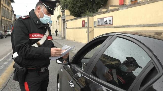 controlli carabinieri Pistoia