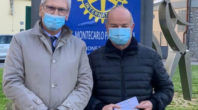 donazione Rotary alla Misericordia di Montecarlo