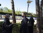 Eike Schmidt  in visita a Pontedera