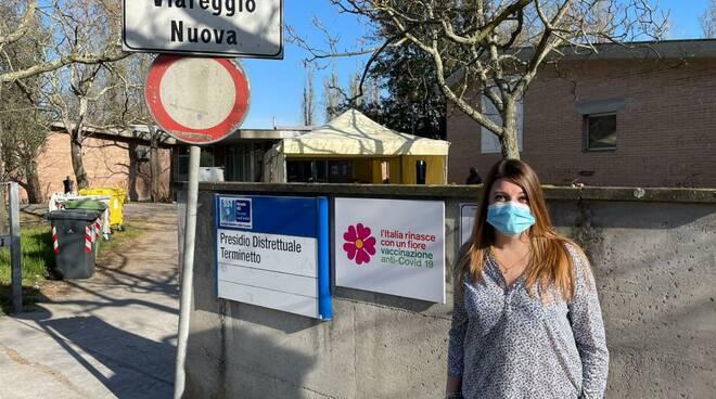 Elisa Montemagni Lega all'hub Terminetto
