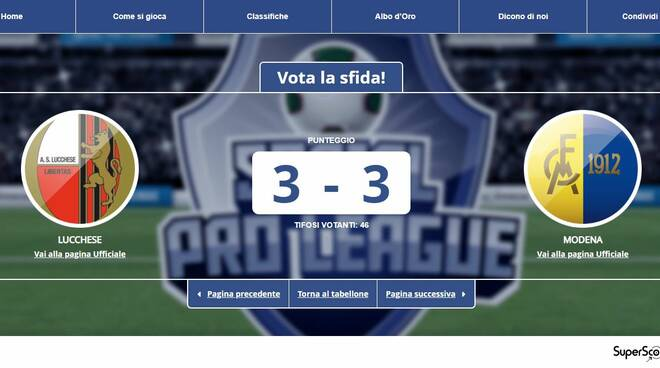 Finale Social Pro League