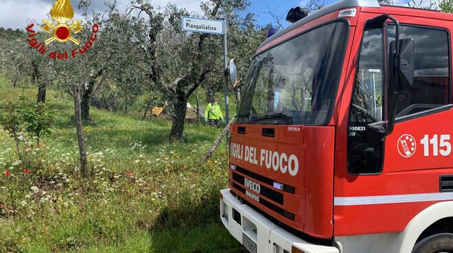 Morto sotto al trattore a Seravalle Pistoiese
