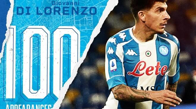 Giovanni Di Lorenzo 100 presenze in Serie A