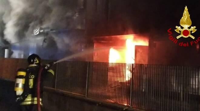 incendio azienda orafa Bucine