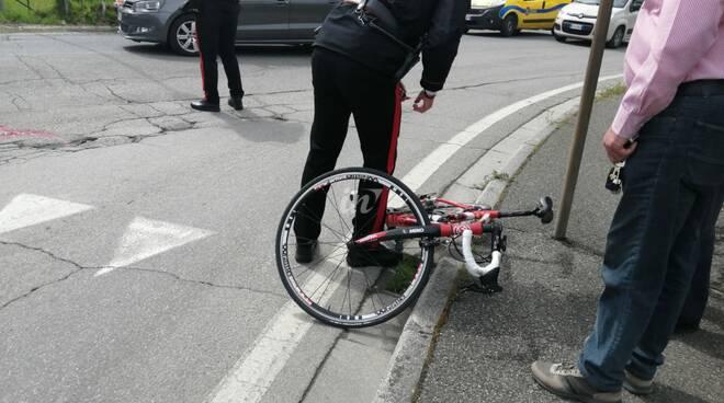 Incidente bici san romano 30 aprile