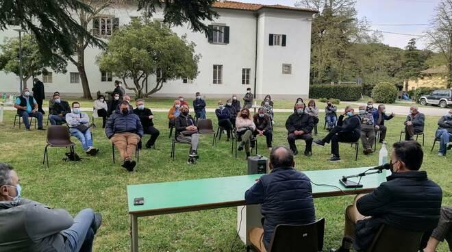 incontro sindaco Conti Coltano Stazione Marconi