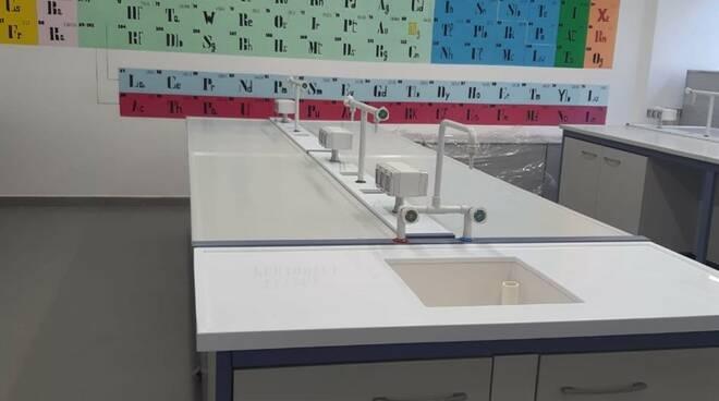 Laboratorio chimica Cattaneo