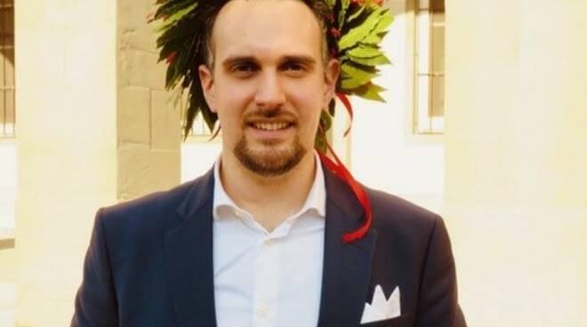 Laurea Mattia Lenzi dell'accademia geminiani di altopascio