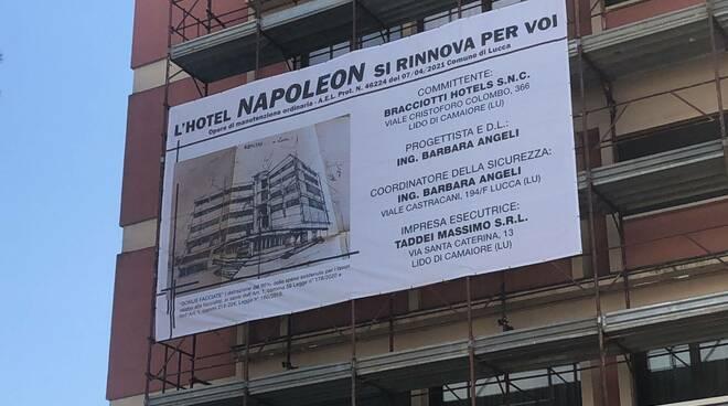 lavori Hotel Napoleon bonus edilizia
