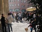 Lucca sabato 24 aprile movida vigilia zona gialla