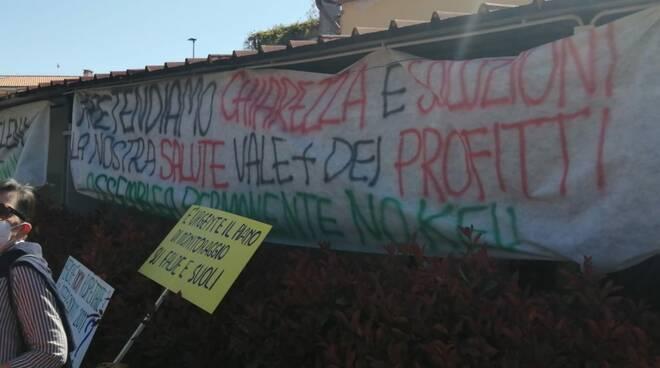 manifestazione No Keu inchiesta Dda piazza Empoli