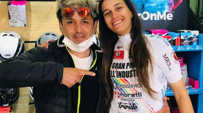 Manuel Fanini Ylenia Fiscarelli Pro Cycling Team