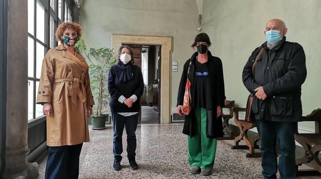 Marcella Matelli con Giglioli e Tambellini