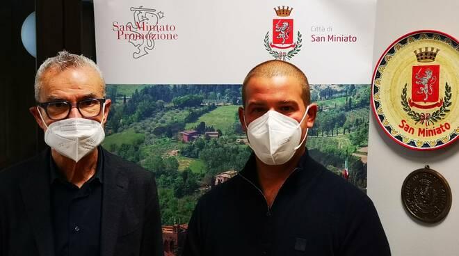 Matteo Pieri e Marzio Gabbanini
