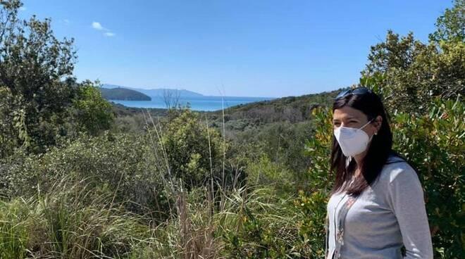 Monia Monni assessore Parco Regionale della Maremma