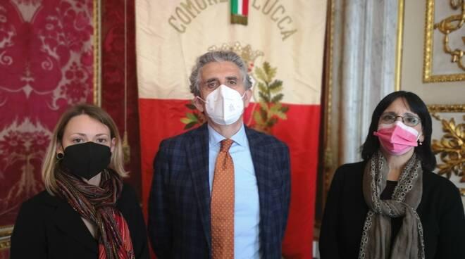 nomine Comune di Lucca Virginia Lucchesi Francesca Fazzi
