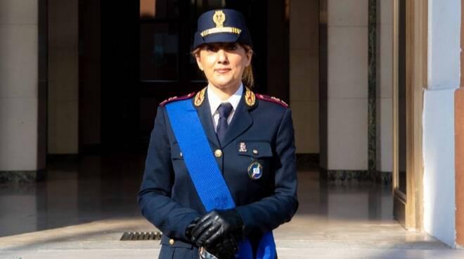nuova funzionaria della questura Rossana di Laura